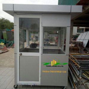 nhà bảo vệ khung thép/choigac-bao-ve.com